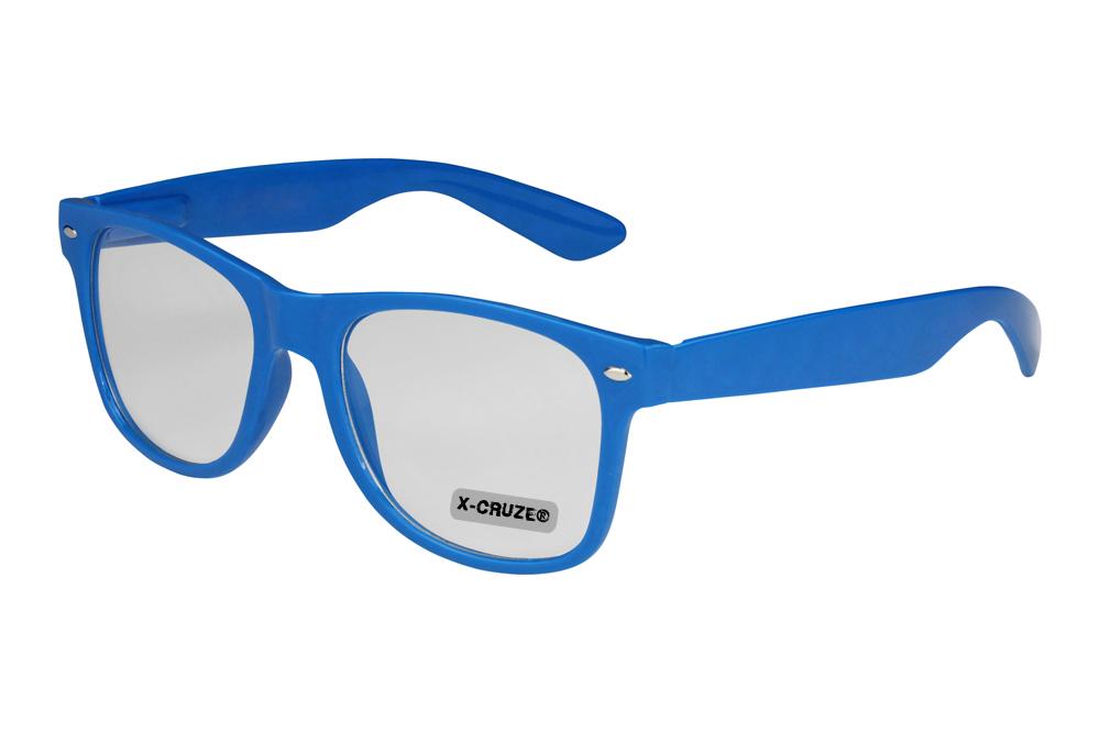 Nerd-Brille-Wayfarer-Herren-Streberbrille-Fensterglas-Klar-Klarglas-ohne-Staerke