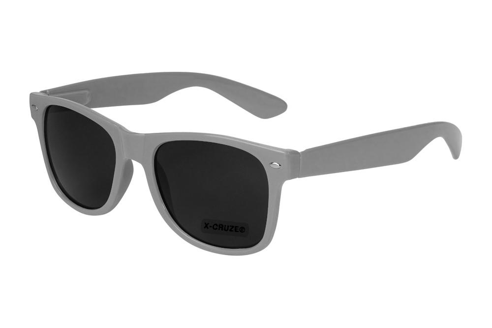 Nerd Brille Nerdbrille Sonnenbrille Retro verspiegelt Unisex Männer Frauen blau